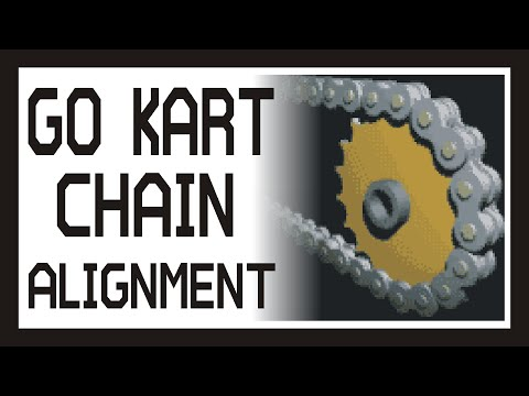 █ GO KART BUILD | CHAIN ALIGNMENT | TIPS & ROMP