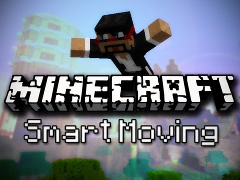 Minecraft Mods: Climbing. Diving. Sliding and More! (Smart Moving Mod)