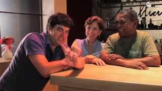 O Cabide Fala entrevista Gesio Amadeu e Gabriela Rabelo