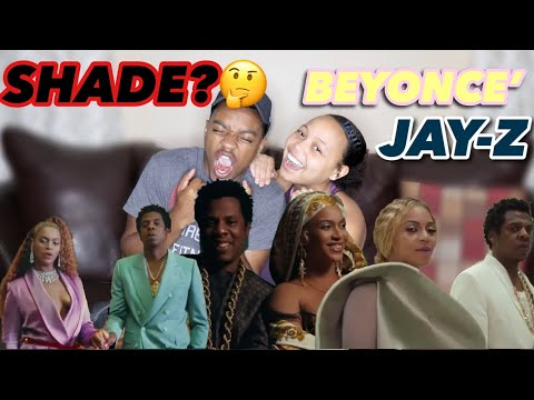 BEYONCE' AND JAY-Z THROWING SHADE? APESH**T- THE CARTERS REACTIONS