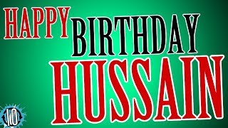 Happy Birthday HUSSAIN! 10 Hours Non Stop Music & Animation For Party Time #Birthday #Hussain