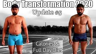 Full Day of Eating for For Fat Loss & Supplements