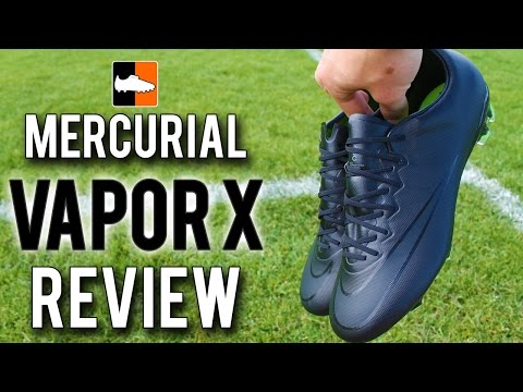 Black Nike Academy Pack Mercurial Vapor X Boot Review