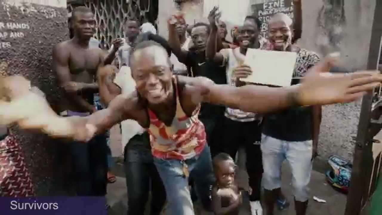 Fenékrázással ünneplik az ebolamentességet - videó