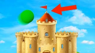 HIT THE CASTLE HOLE IN ONE! (Golf It)