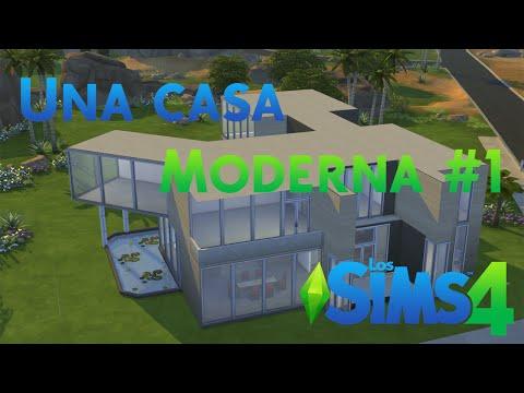 Los Sims 4 Cómo hacer una casa moderna Parte 1