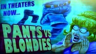 PvZ Garden Warfare - Pants vs. Zombies NEW Easter Egg Gameplay   Chomp Town World!