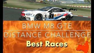 Real Racing 3 RR3 BMW M8 GTE Distance Challenge: Best Races