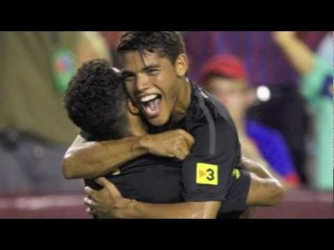 Thiago Alcantara and Jonathan Dos Santos, football brothers