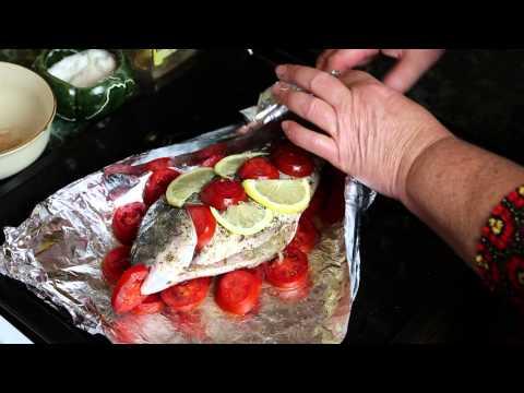 Как запечь рыбу в духовке и