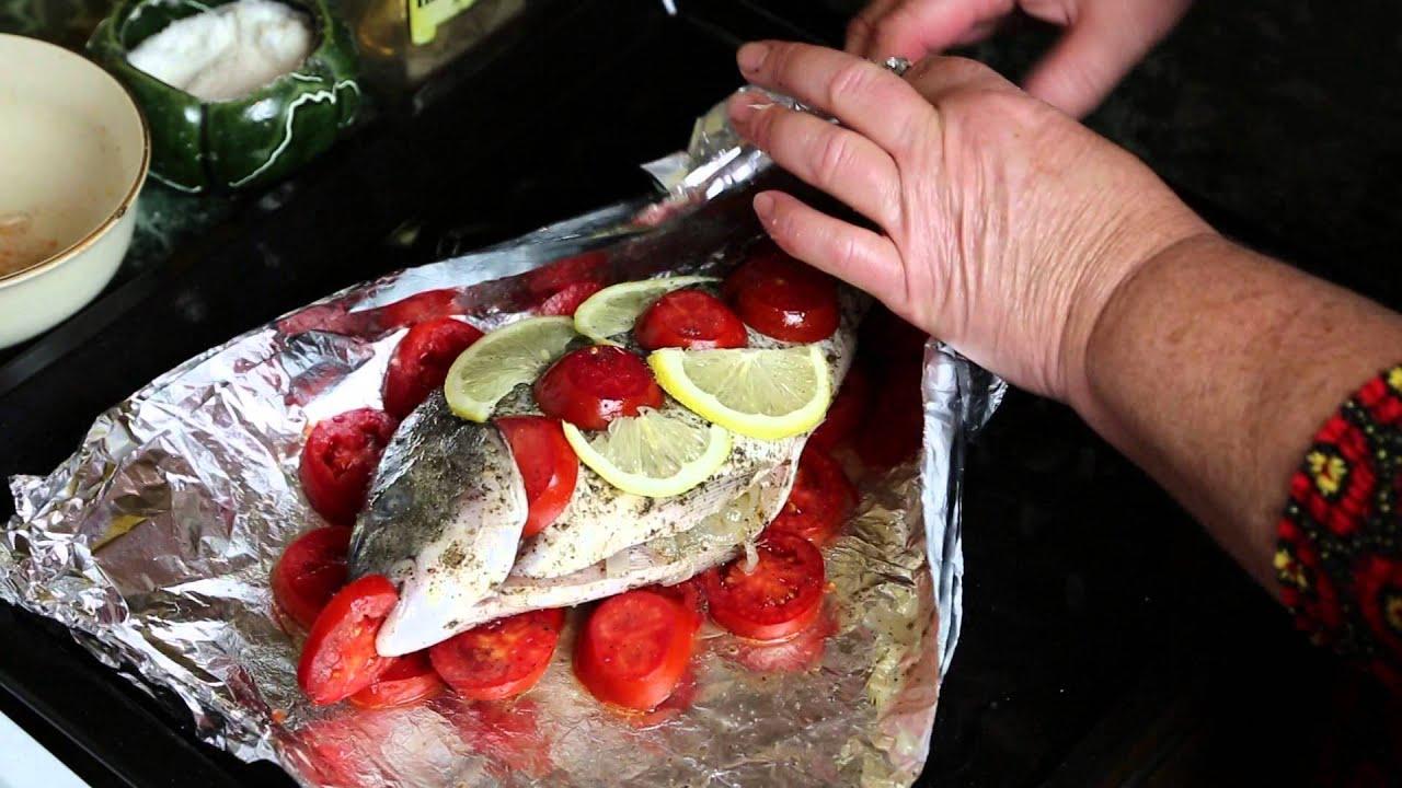 Вкусная рыба в духовке в фольге рецепты