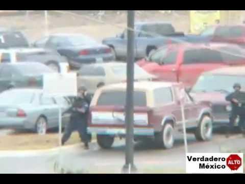 Balacera en Puente Bronco  17 DE FEBRERO DE 2009
