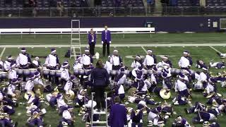 University of Washington Husky Marching Band 2018: Africano by Earth Wind and Fire