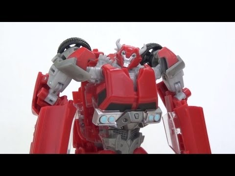 Video Review of the Transformers Prime (RiD) Deluxe Class; Cliffjumper