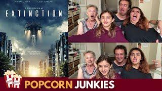 Extinction (Netflix Movie) Trailer - Nadia Sawalha & Family Reaction & Review