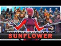 24 players play Sunflower on Fortnite piano
