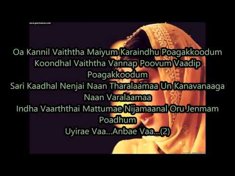 Dandiya Aatamum Aada From Kadhalar Dinam - Lyrics video