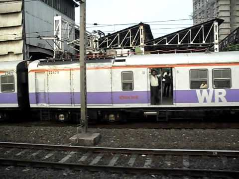 Race with Mumbai local Train