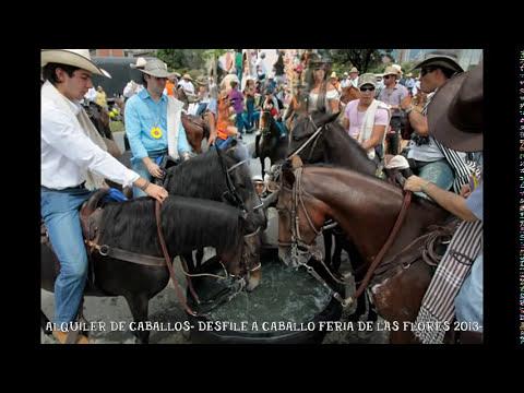 CABALGATA FERIA DE LAS FLORES 2013-HORSE PARADE MEDELLIN FLOWERS FAIR 2013