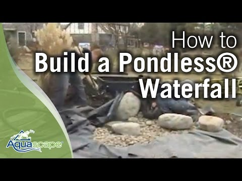 how to build a waterfall weed