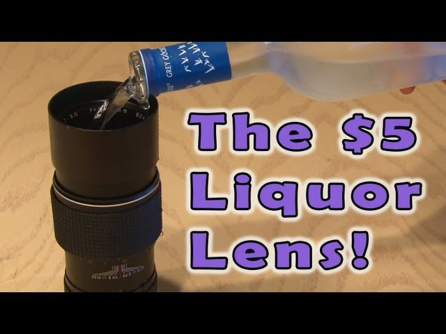 The $5 Liquor Lens!