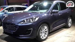 New Ford Kuga Hybrid SUV हुई रिवील्ड