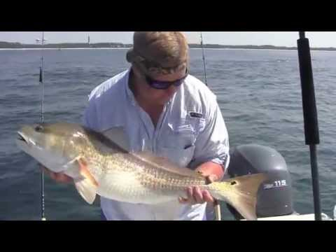 """All Jack'd Up"" fishing Catching Huge Red Drum in Pensacola, Fl"