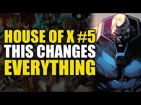 X-Men House Of X Part 5: This Changes Everything | Comics Explained