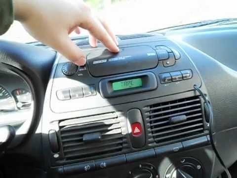 MP3 плеер к кассетной магнитолле Fiat Marea