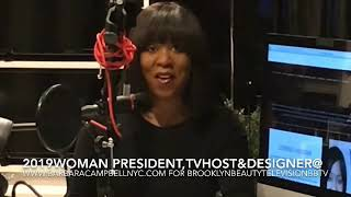 2019 Woman President TV Host & Brooklyn Designer Talks About the Future Leadership