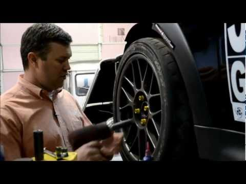 How to install wheel stud on a BMW or MINI Cooper