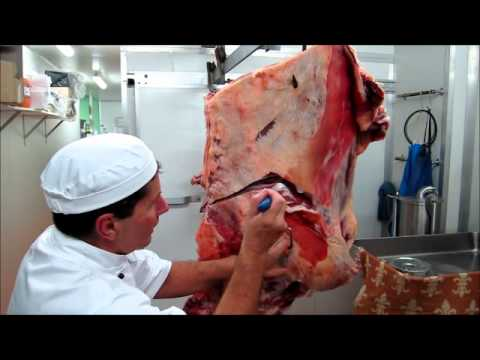 Part 2 - How to bone a Forequarter of Beef demonstration by Master Butcher Michael Cross