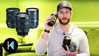 Which 24-105 to CHOOSE? Sony vs. Canon vs. Sigma