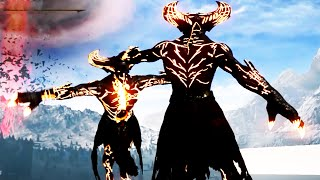 Mortal Kombat X Corrupted Shinnok Boss, Secret Character Death Victorys on Rain, Sindel, & Baraka