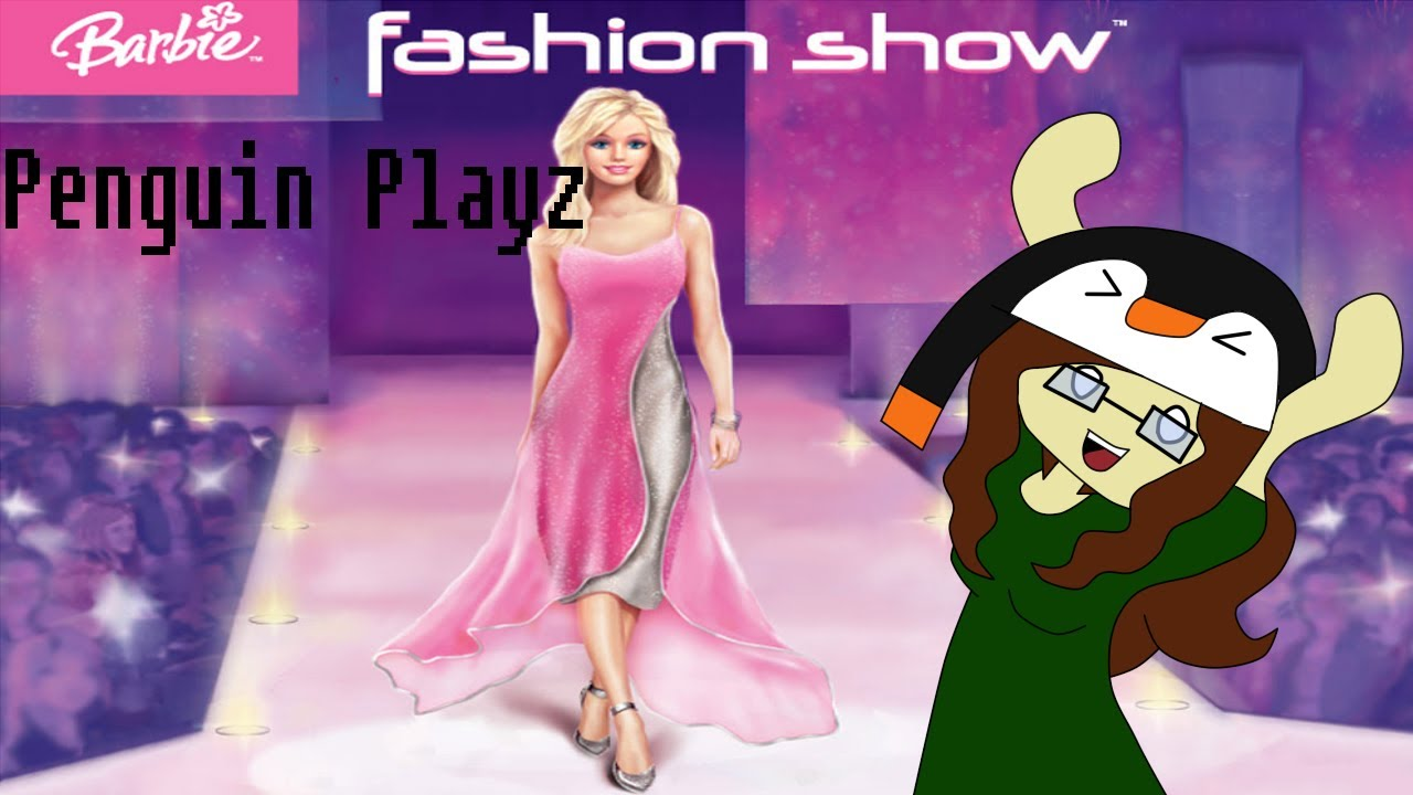 My Barbie Fashion Show Penguin Playz Barbie Fashion