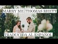 MARRY ME ♥ - Thomas Rhett | COVER SUB ESPAÑOL ♥