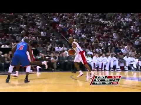 Game Highlights Toronto Raptors vs New York Knicks October 22, 2010