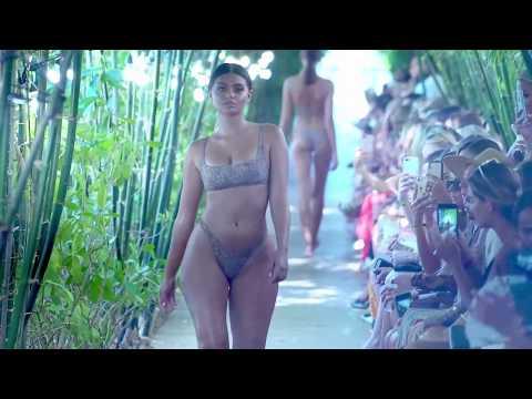Model Spotlight Sofia Stone Fox Swim Swimwear Bikini Fashion Show SS 2019 Miami Swim Week 2018 thumbnail