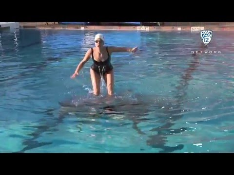 Outtakes from Ashley Adamson's synchronized swimming adventure
