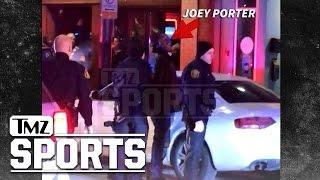 Joey Porter Arrest Video ... Handcuffed, Jawing at Cops   TMZ Sports