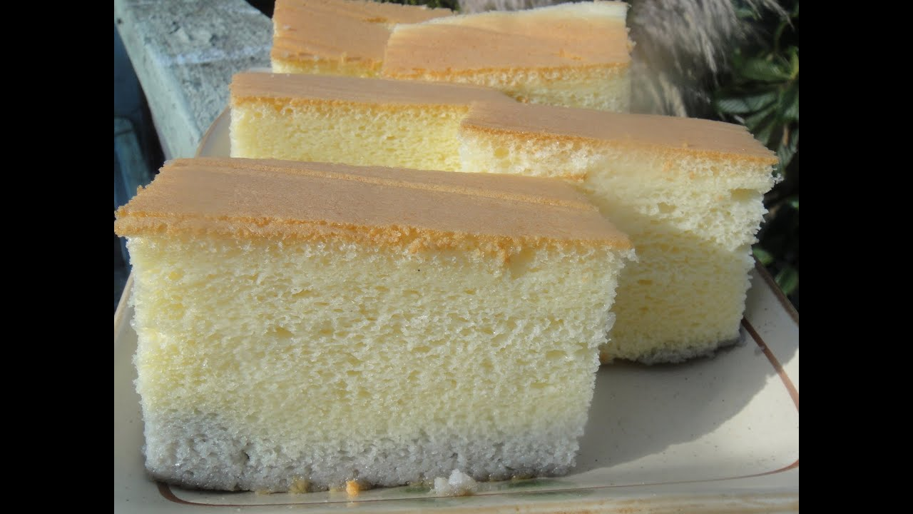 Make Egg White Sponge Cake