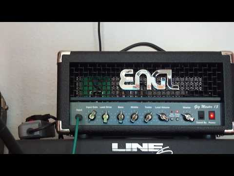 Engl Gig Master Top at 1 Watt (Video 2 of 3) - Demo of clean sounds with Gibson ES-339 at room level