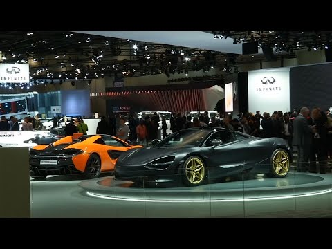 New Luxury Cars Revealed at Dubai Motorshow