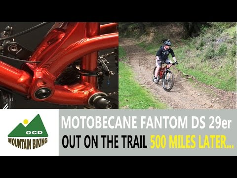 Bike Check, Motobecane fantom ds comp, out on the trail 500 miles later...