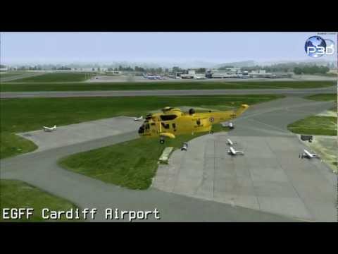 OrbX FTX EU Wales Airports (P3D)