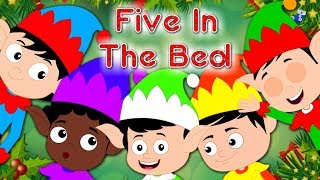 Five In The Bed Elves | Cartoon Videos And Songs For Toddlers | Nursery Rhymes by Kids Tv