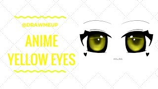 ?Speed Art?Anime Yellow Eyes