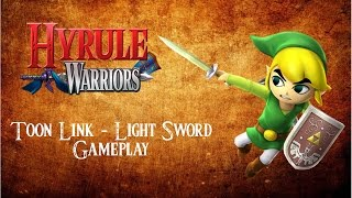 Hyrule Warriors Gameplay Wii U - Toon Link - Light Sword