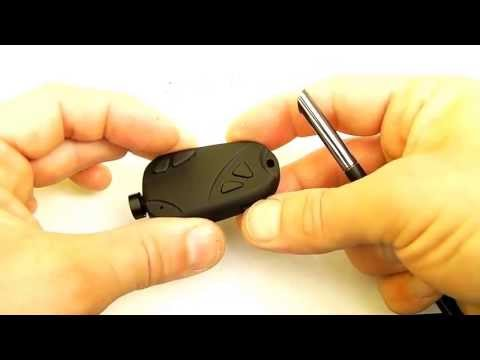 Original 808 #16 120 degree lens Micro Keychain Camera Review