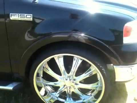 Ford F150 Rims >> My ford f150 on 28 inch rims - YouTube